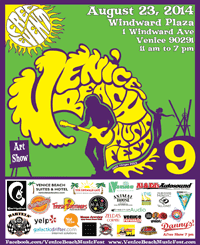 7th Annual Venice Beach Music Fest